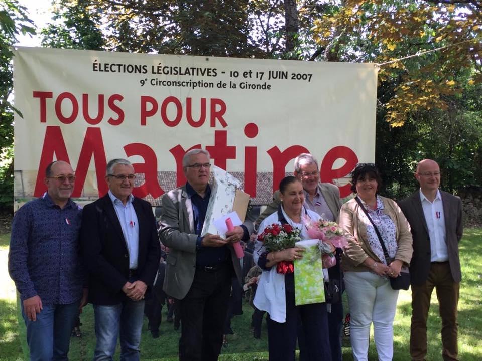 La députée Martine Faure qui a su devenir Martine pour tout le monde !