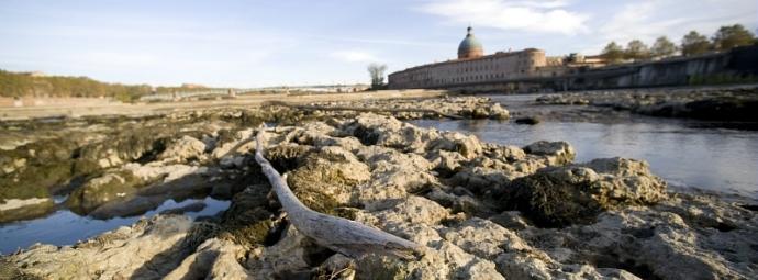 Le bassin de la Garonne va très vite manquer d'eau