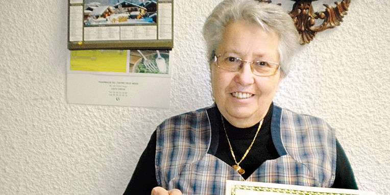 Jeanine, la bénévole au coeur d'or