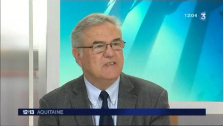 Jean-Marie Darmian, invité du Midi Pile Aquitaine-France 3 sur la situation de l'emploi dans la région