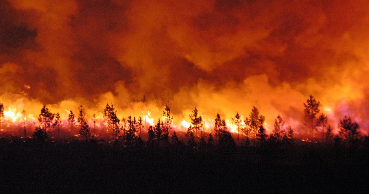 La planète part inexorablement en fumée