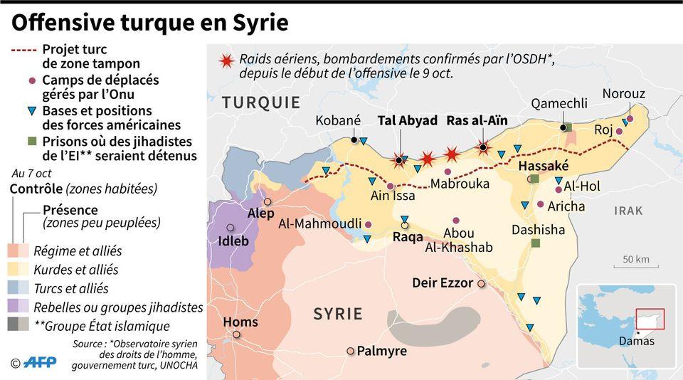 Les Kurdes abandonnés dans la tourmente