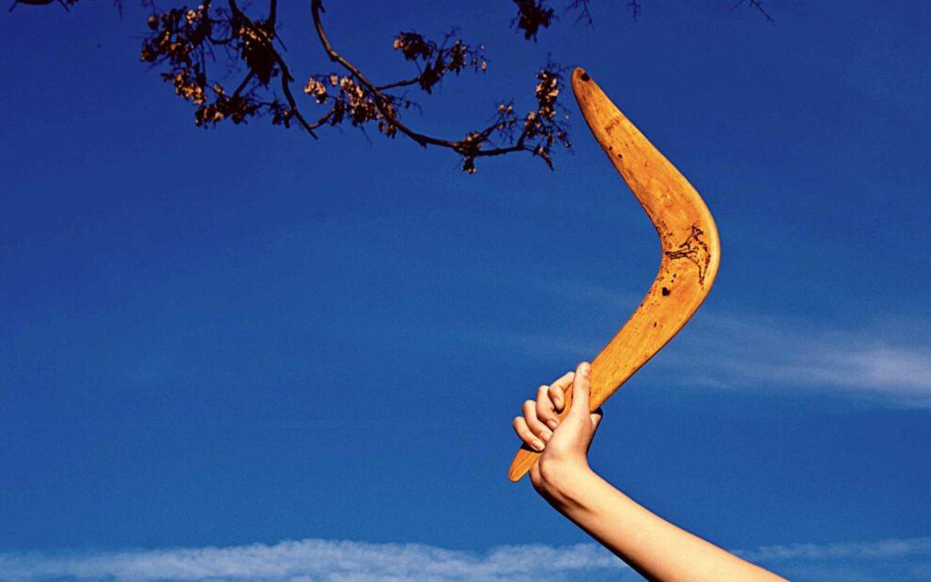 L'effet boomerang plus que jamais dangereux