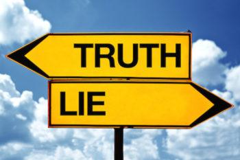 Un mensonge ressassé devient une vérité