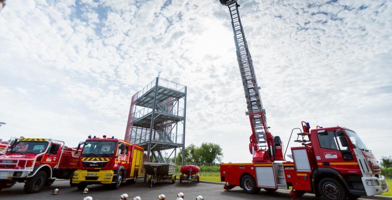 Aux cotés des sapeurs-pompiers pour le pire et le meilleur