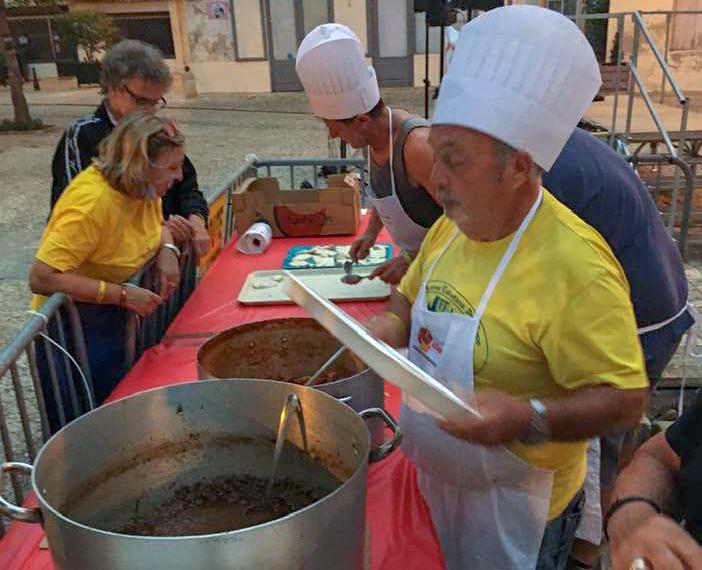 Franco le rameur italien de la polenta partagée